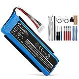 CELLONIC® Batería de Repuesto GSP872693, P763098 03 Compatible con JBL Flip 3, 3000mAh + Juego de Destornilladores GSP872693, P763098 03 Accu Altavoz, Speaker Battery