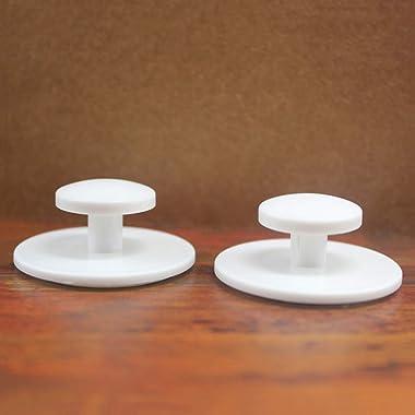 Retzjorv 10 Pcs Self-Stick Drawer Knobs Instant Cabinet Drawer Mini Handle Helper Kitchen Cabinet Door Window Drawer Auxiliar