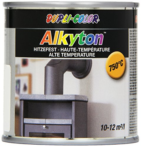 Dupli-Color 344497 DC Alkyton, 250 ml, Hitzefest Schwarz