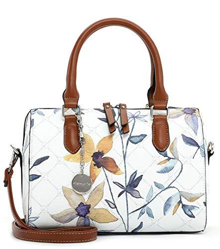 Tamaris Anastasia Flower Bowling Bag White/Flower