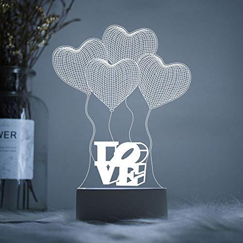 YLSMN 3D Nachtlicht Acryl benutzerdefinierte LOGO Tischlampe net rot Student Start Schule Lehrer Festival Mid-Autumn Festival kreative Geschenke stillen