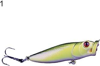 RIsxffp Fish Hook 6.5cm 8.7g Simulación Peces de Pesca Cebo Duro Señuelo Falso Abrazaderas con Agudos Ganchos