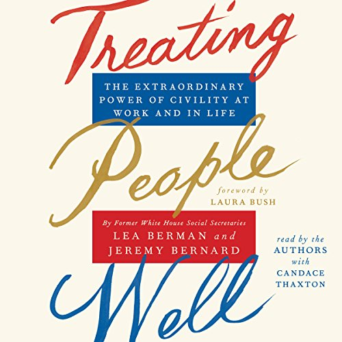 Treating People Well audiobook cover art