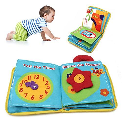 Vivianu 12 Páginas De Tela Libro Para Bebés