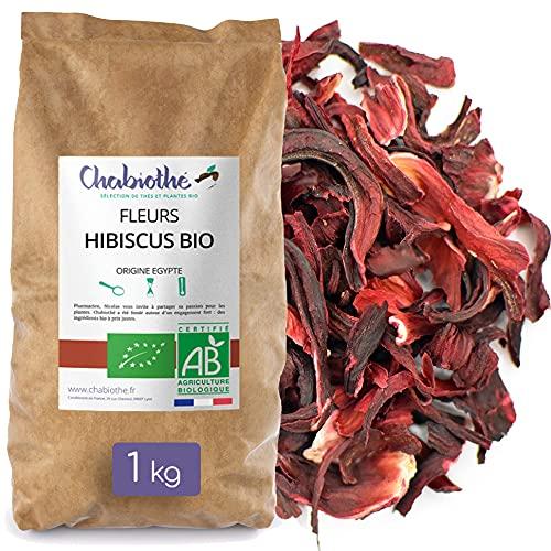 Fiori d'Ibisco Bio essiccati Bissap Karkadé 1kg