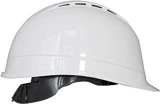 Portwest Arrow Safety Helmet Hard Hat Construction Work Protective Wear Hi Vis Cap ANSI C, White