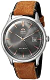 Orient Men's Bambino Version 4 Stainless Steel Japanese-Automatic Watch with Leather Calfskin Strap,...