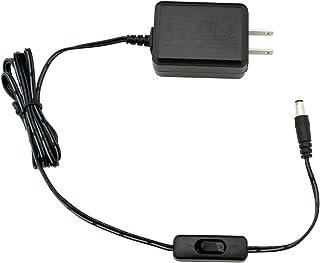 ACアダプター 12V 1A スイッチ付き プラスチック製 PSE RoHS 電気用品安全法適合品