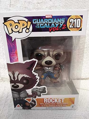 Funko POP! Marvel Guardianes de la galaxia 2: Rocket Raccoon