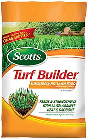 Scotts Turf Builder Lawn Food Summerguard with Insect Control 5,000-sq ft. (13.35lb.)