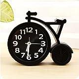 Clocks Creative Alarm Clocks - Portable Mini Mute Children Student Clock Bike Office