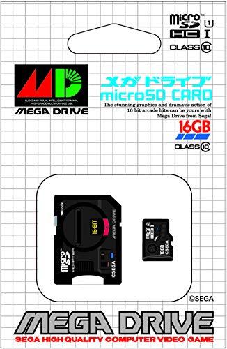 Micro SDHC card ''Sega Mega Drive'' 16gb (SD adapter included) [Japan Import]