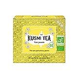Kusmi Tea - Tè Verde al gelsomino Bio - Scatola da 20 bustine