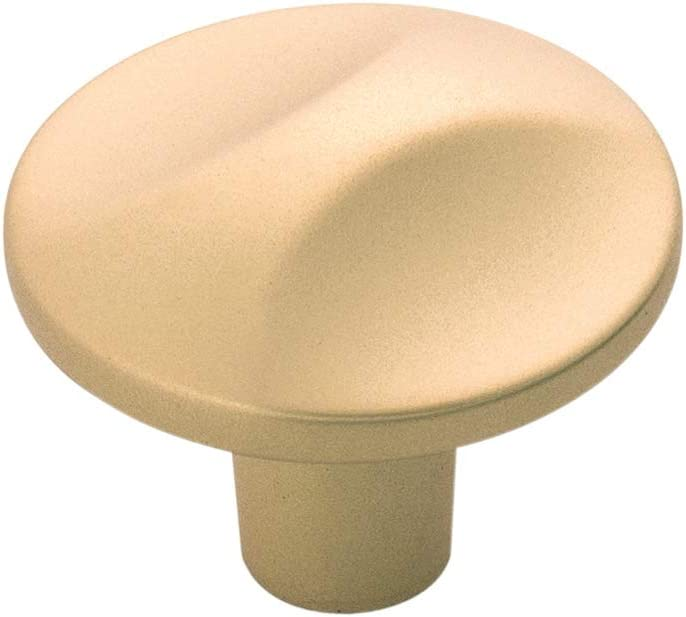 Hickory Hardware H076128-FUB Crest sale Collection Charlotte Mall D Knob 4 1-1 Inch