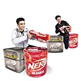 Best Nerf Blow Dart Guns - Nerf Bunkr Battle Stackers Inflatable Battlezone Pack Review