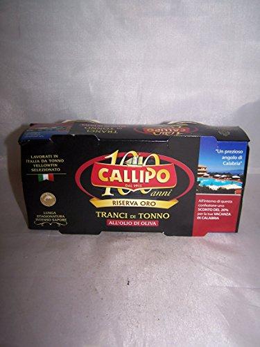 Callipo - Riserva Oro - Tranci di Tonno all'Olio di Oliva - Tin - 2 x 160g