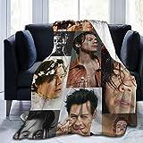 JAPYZEY O-ne D-ir-ec-ti-on Fleece Throw Blanket Winter H-ar-ry S-ty-le-s Ultra-Soft Micro Flannel Blanket for Bed Sofa 50'X40'