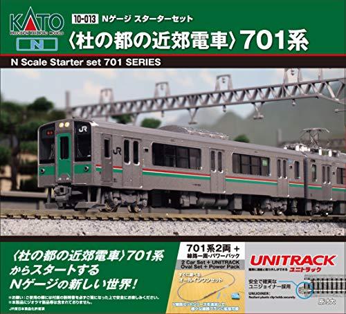 KATO Nゲージスターターセット 701系 杜の都の近郊電車 10-013 …
