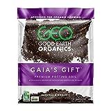 The Good Earth Organics, Gaia's Gift Premium Potting Soil, Organic Potting Soil for Heavy Feeding Plants Like Tomatoes, Hops & More (10 Gallon)