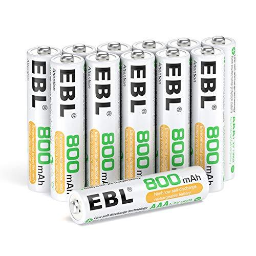 EBL 12 x Pilas AAA Recargables...