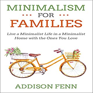 Minimalism for Families audiobook cover art