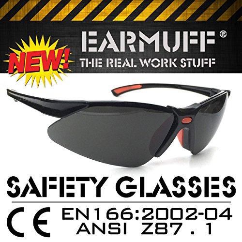 *STINGER* Sport occhiali protettivi, sicurezza occhiali, occhiali di ripresa, lavoro protezione occhiali, biker occhiali, occhiali da sole a norma DIN EN-166