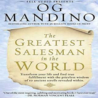 The Greatest Salesman in the World audiobook cover art
