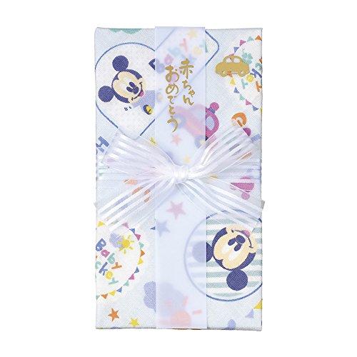 マルアイ ディズニー 祝儀袋 出産祝い デザイン ガーゼ ハンカチ 金封 ミッキー 1枚 キ-D10B