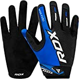 RDX Weight Lifting Full Finger Gym Gloves for Fitness Workout - Breathable with Anti Slip Palm...