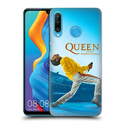Head Case Designs Licenza Ufficiale Queen Freddie Mercury Live At Wembley Arte Chiave Cover Dura per Parte Posteriore Compatibile con Huawei P30 Lite/Nova 4e