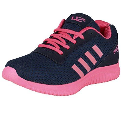 Lancer Women's Navy & Pink Running Shoes - 6 UK
