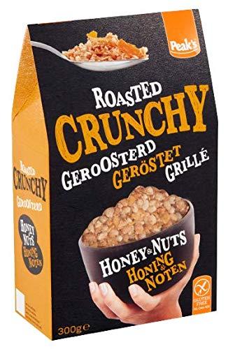 Peak's Crunchy Honig & Nüsse glutenfrei 300g