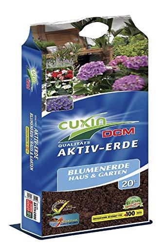 1 x 20 Liter CUXIN DCM Aktiv-Erde Blumenerde Haus & Garten in verschiedenen Größen