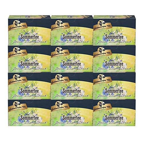 Goldmännchen-TEE Sommertee Limette, 12er Pack