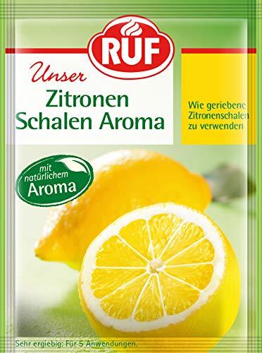 RUF Zitronen-Schalen-Aroma wie geriebene Zitronenschale zu verwenden, 25er Pack (25 x 20 g)