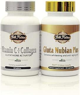Diamond Nubian Whitening Pills + Vitamin C
