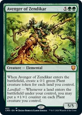 Magic: The Gathering - Avenger of Zendikar - Theme Deck Exclusive - Commander Legends