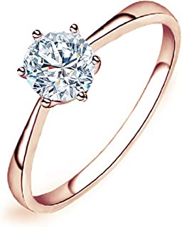Best cubic zirconia solitaire wedding rings Reviews