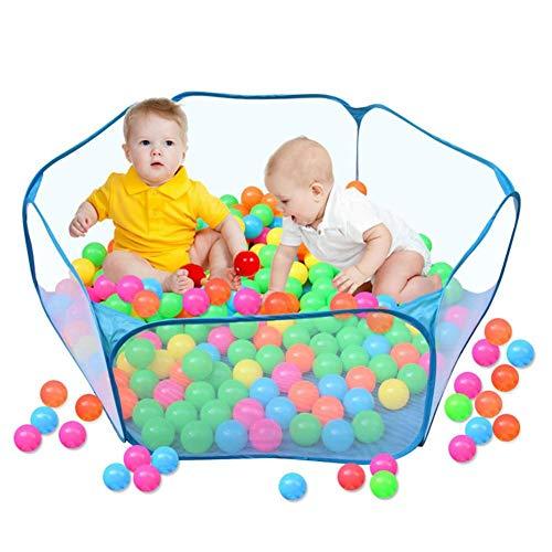 RNYY Baby-Laufstall Indoor-und Outdoor-Spielhaus Ocean Ball Pool Pit Portable Outdoor-Spiel Zelt Gartenzaun Zelt Haustier Zaun