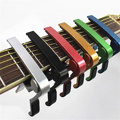 King Do Way - Cejilla de aluminio para guitarra acústica y