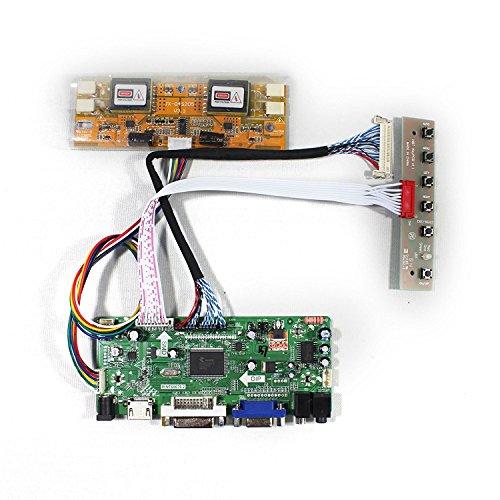 HDMI + VGA + DVI + Audioeingang LCD-Controller-Karte für LM230WF1 M215HW03 21,5