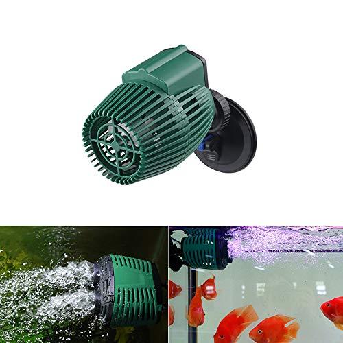 Aquarium Wave Maker Aquariumvissen Tank Wave Maker Pomp Wave Maker Pomp Circulatie Pomp voor Marine Tropische en Zoet Water Pomp, Enkele kop met zuignap 12W