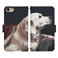 Galaxy Note20 Ultra 5G SC-53A ベルトあり 手帳型 スマホケース スマホカバー di772(C) 犬 イヌ いぬ 動物 アニマル ギャラクシー ノート20 ウルトラ エスシー53エー スマートフォン スマートホン 携帯 ケース 手帳 ダイアリー フリップ スマフォ カバー