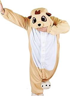 wotogold Animal Meerkat Pajamas Unisex Adult Cosplay Costumes