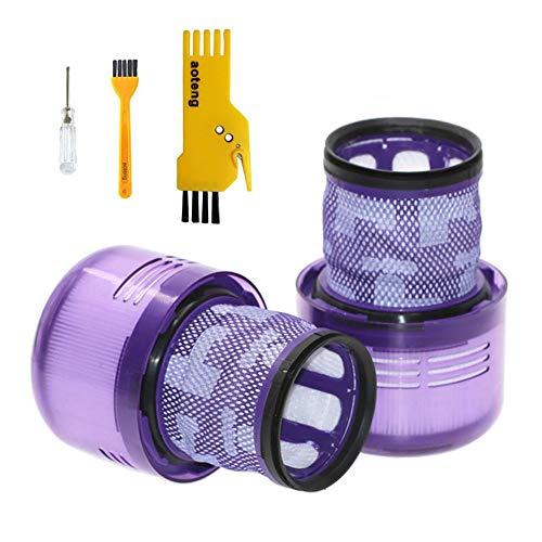 Zubehör Filter für Dyson V11 Torque Drive Akku-Staubsauger Ersatzteile Packung mit 2 Stück Hepa-Filter