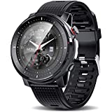 Smart Watch,Health and Fitness Smartwatch with Heart Rate Blood Pressure SpO2 Monitor Sleep Tracker,Buletooth5.0,high-Definition Full-Screen Touch,IP68 Waterproof Smart Watch for Android iOS Phone