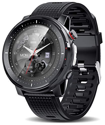 ATGTGA Smart Watch for Android iOS Phones (Call Feature,1.4,inch,Bluetooth ) Multi-Sport Track Smart Watches with Sleep Tracker,SmartWatch for Men