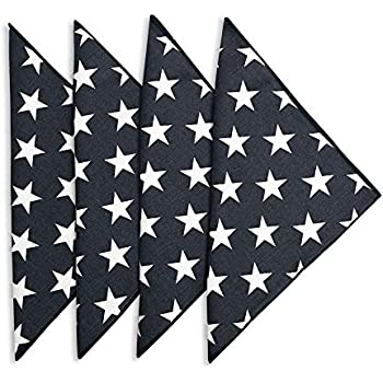 Cloth Napkins Wedding Napkins Table Linens Linen Napkins Set of 12 Black and White Stripe 18 x 18 Decorative Things