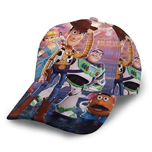Dfhrtgre Toy Story Gorra de béisbol para hombres y mujeres,...