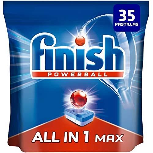 Finish Powerball All in 1 Max - Pastillas para el lavavajillas todo en 1-35 pastillas